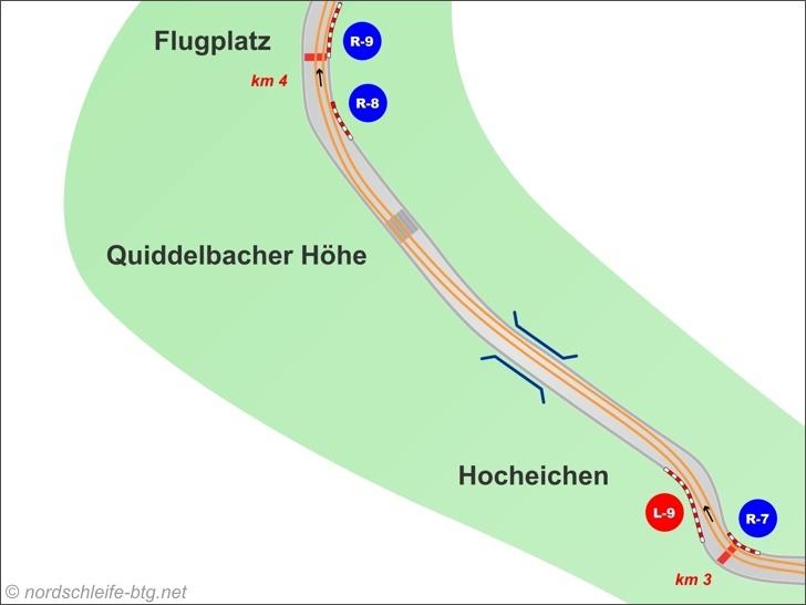 Hocheichen, Quiddelbacher Hoehe and Flugplatz