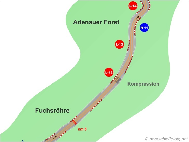 Fuchsroehre and Adenauer Forst