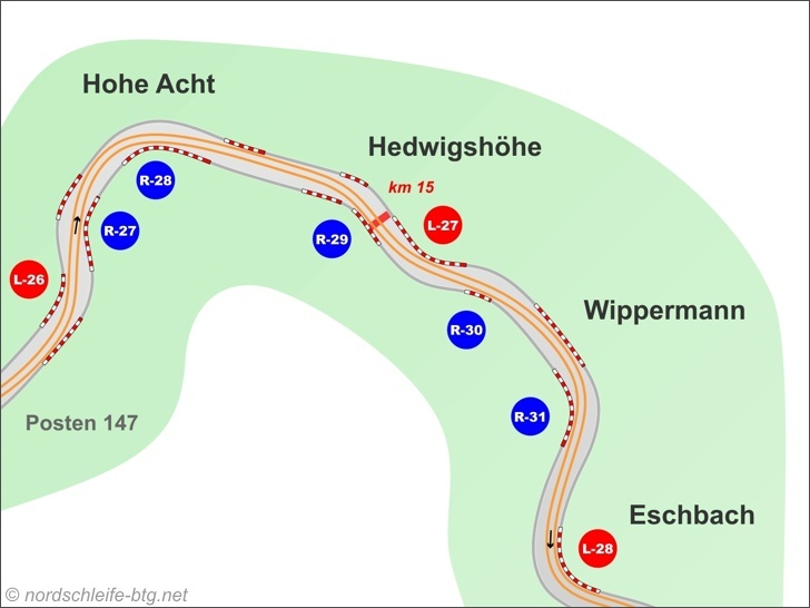 Hohe Acht, Hedwigshoehe, Wippermann and Eschbach